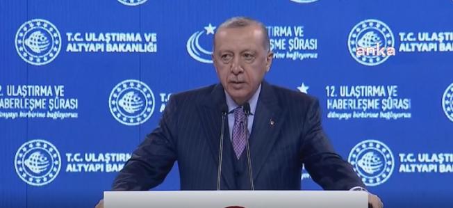 Erdoğan: Deniz Taşımacılığındaki En Büyük Projemiz Kanal İstanbul'dur