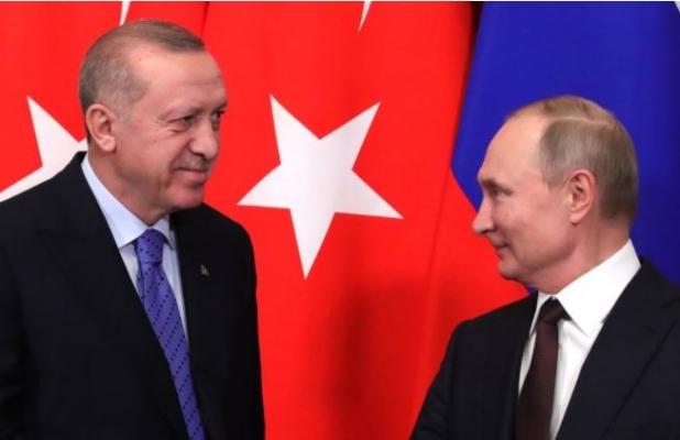 Erdoğan, Putin'in Doğum Gününü Kutladı