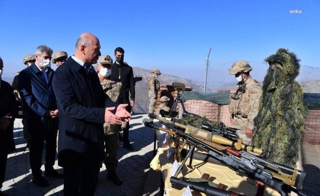 İçişleri Bakanı Süleyman Soylu, Tunceli'de güvenlik toplantısında
