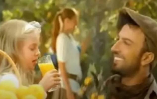 İpek Filiz Yazıcı, yıllar önce Tarkan'la aynı reklamda rol almış