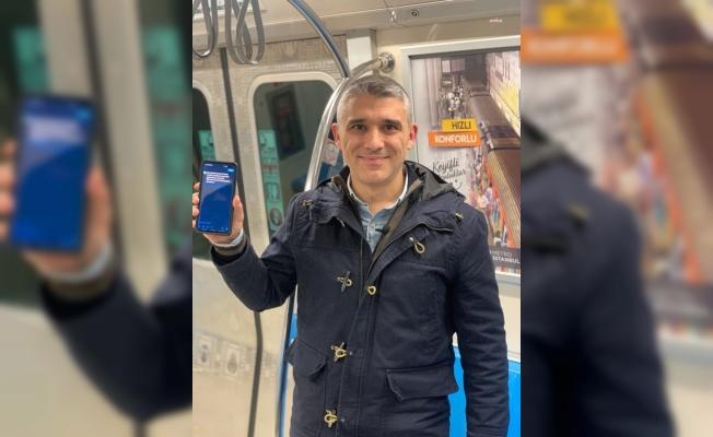 İstanbul'da Yenikapı-Hacıosman metro hattında internet hizmeti başladı