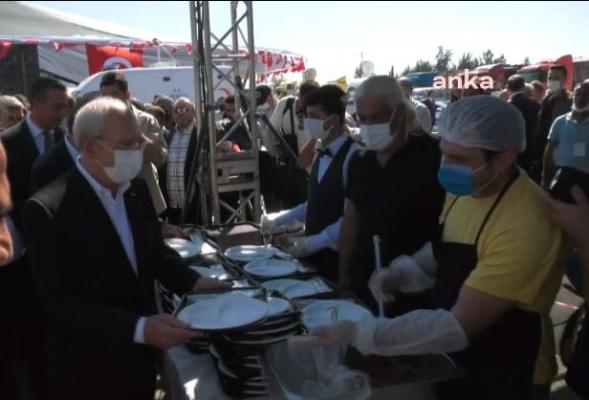 Kılıçdaroğlu, Nakliyecilerle Yemek Yedi