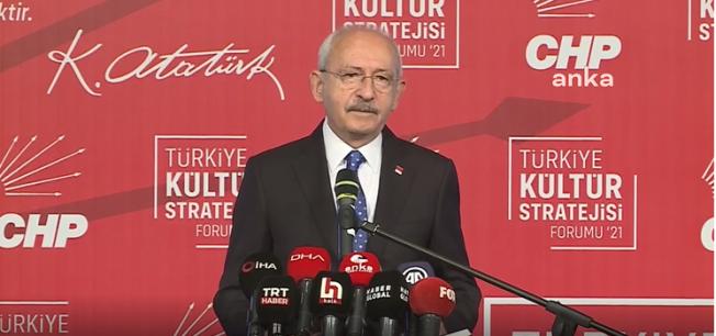 Kılıçdaroğlu: Sanat için para topluyorsunuz, pandemi döneminde sanatçıları açlığa mahkum ediyorsunuz
