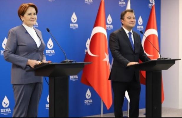 Meral Akşener ve Ali Babacan'dan güçlendirilmiş parlamenter sistem mesajı