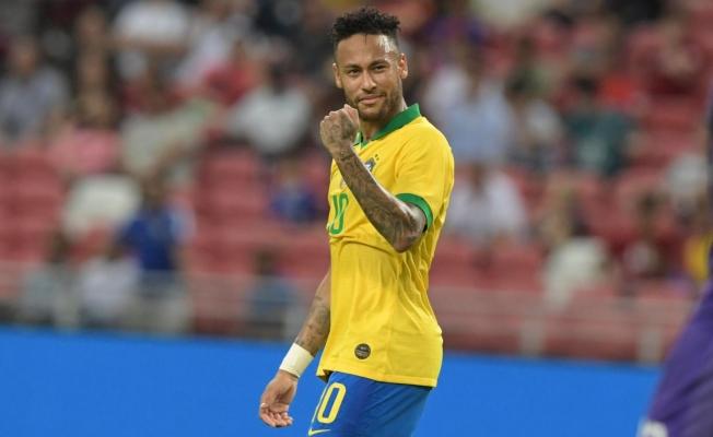 Neymar'dan veda sinyali