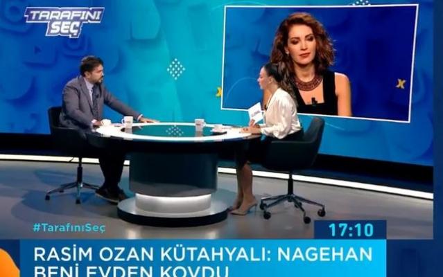 Rasim Ozan Kütahyalı: Nagehan Alçı beni evden kovdu