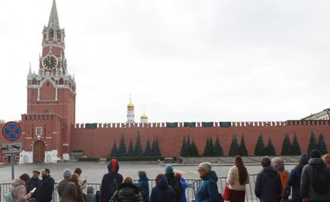 Şiddetli rüzgar Kremlin'in burcunu yıktı