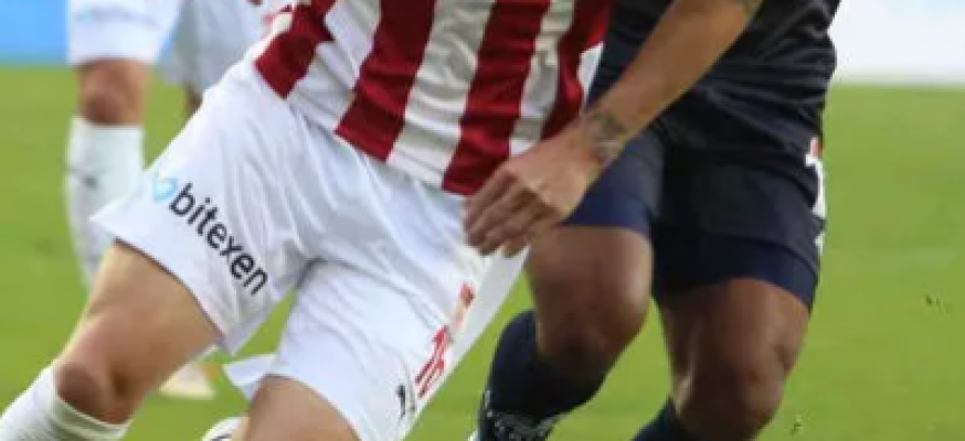 Sivasspor ve Antalyaspor düellosunda kazanan yok