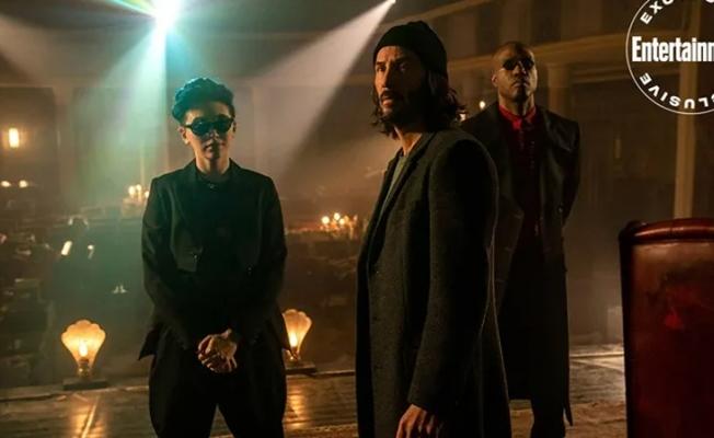 The Matrix Resurrections filminden kareler heyecan yarattı