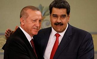Erdoğan, Maduro'ya destek: 'Dik dur, yanındayız'