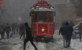 İstanbul için kar ve fırtına alarmı