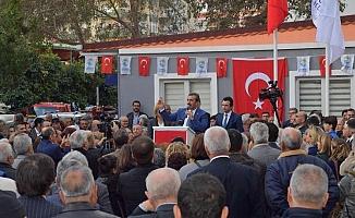 Başkan Soner Çetin 13'üncü Emekli Dinlenme Evi'ni Güzelyalı'da açtı