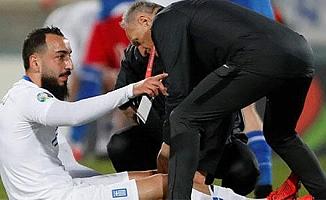 Galatasaray'dan Mitroglou'nun sakatlığıyla ilgili açıklama