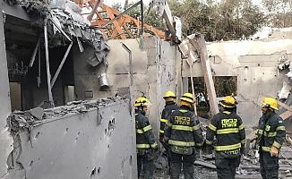 Gazze'de füze gerilimi