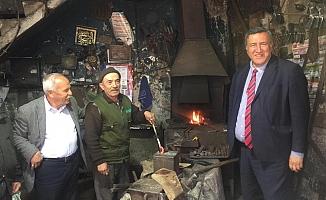 Gürer, sokaksokakgezip CHP'li adaylar için destek istiyor