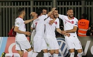 Türkiye EURO 2020 elemelerine galibiyetle başladı