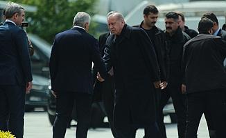 Erdoğan, Yıldırım ve Özhaseki bir araya geldi