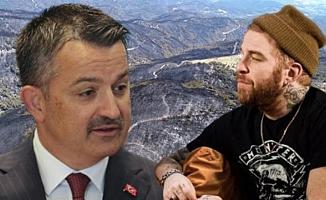 Gökhan Özoğuz: ''Trajikomik durum sayın Pakdemirli, bırakalım yansın mı orman!''