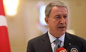 """Milli Savunma Bakanı Akar: ''FETÖ ile mücadelede """"17 bin 498 kişi ihraç edildi''"""