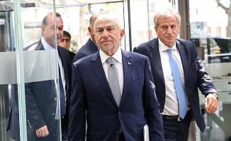 TFF Başkanı Özdemir: ''Kulüplere en kısa sürede ödeme yapılmasını sağlayacağız''