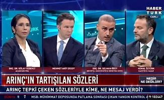 AKP'li isimler canlı yayında birbirlerine girdi!