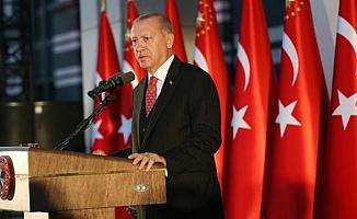Cumhurbaşkanı Erdoğan'dan adli yıl açılış mesajı
