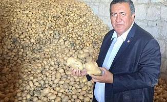 """Gürer: """"Soğan ve patates üreticisine neden destek olmuyorsunuz?"""""""