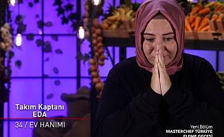 MasterChef Türkiye'ye veda eden Eda'nın duygusal anları!