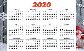 2020 Yılı Resmi Tatiller Listesi…