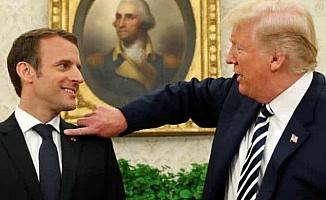 """Macron eleştirilere yanıt verdi; """"Sözlerimin arkasındayım"""""""