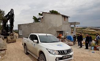 Mersin'de 95 Yaşındaki Cennet Nine İçin Yeni Yol Açıldı