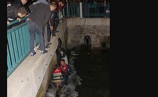 Su Kanalına Düşen Adam Hayatını Kaybetti!