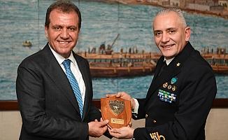NATO Komutanı Fantoni, Başkan Seçer'i ziyaret etti