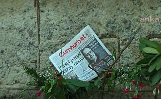 Uğur Mumcu, ölümünün 27. yılında evinin önünde anıldı