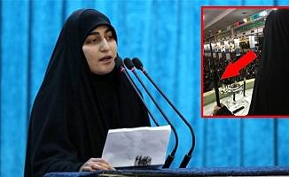 Kasım Süleymani'nin Kızı Minbere Çıkıp ABD'yi Tehdit Etti!