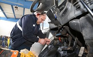 Odunpazarı'nda, Araç Bakım Atölyesi kaynak tasarrufu sağlıyor