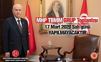 AKP ve CHP'den sonra MHP Grubu da iptal!