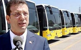 İmamoğlu: Salgın nedeniyle toplu taşıma 1 haftada yüzde 30 azaldı
