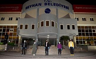"""Seyhan'dan """"insana hizmet"""" eden sağlıkçılara hizmet!"""