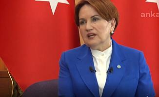 Akşener: Erdoğan 2023'te seçilemeyecek!