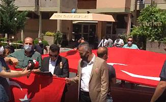 15 Temmuz Gazileri, Ahmet Yaramış'ı Protesto Etti