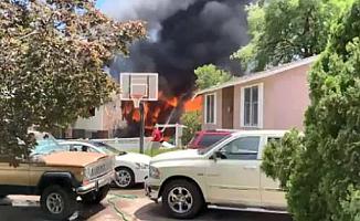 ABD'de evin üzerine uçak düştü: 3 kişi hayatını kaybetti