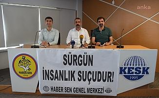''Haber Sen Üyesi PTT Çalışanları Sürgün Edildi''