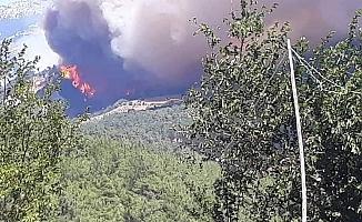 Adana Kozan'da yangın çıktı: Köyler boşaltılıyor