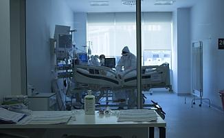 Ankara Şehir Hastanesi - Korona Yoğun Bakımı Görüntülendi