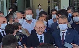 CHP Lideri Kılıçdaroğlu'ndan Başkan Böcek'e Ziyaret