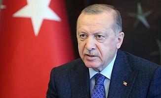 Erdoğan: Türk Milleti tüm imkanlarıyla Azerbaycanlı kardeşlerinin yanındadır