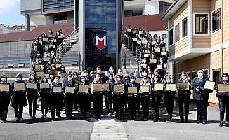 İstanbul'da 88 Kadın Makinist Brövelerini Aldı
