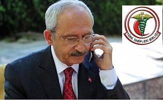Kılıçdaroğlu, TTB Başkanı Adıyaman İle Görüştü