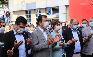 Koronavrüs'ten ölen İSTAÇ Genel Müdürü Mustafa Canlı için tören düzenlendi